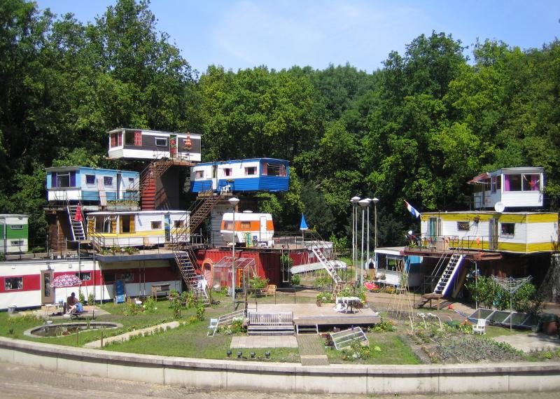 Trailer Park Theater Set Design By Catherina Scholten Sparkleshock