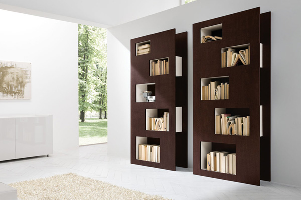 Modern Bookshelf Design catchy collections of contemporary bookshelf designs. catchy